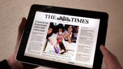 Un diario, hoy en día, se lee en una pantalla digital y no en papel.