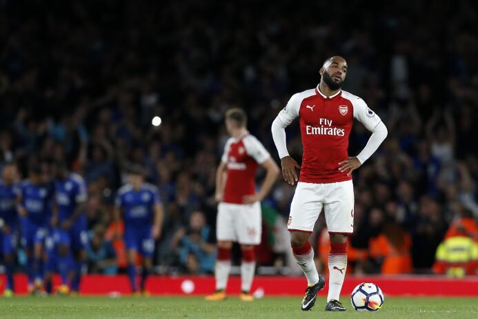 Lágrimas, risas, volteretas y sonrisas en el Arsenal 4-3 Leicester Getty...