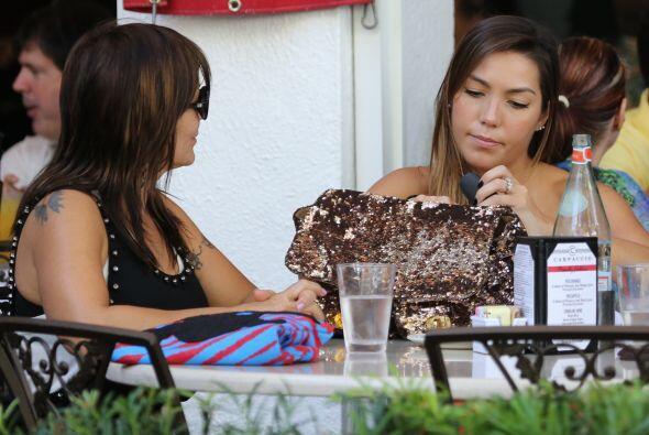Parece que fue el turno de Frida Sofía para pagar la cuenta, ¡ups!