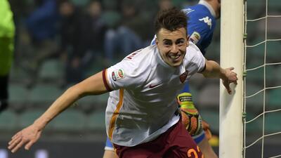 La Roma vence 2-0 al Sassuolo con otro gol del recién fichado El Shaarawy