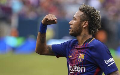 Neymar le dio el triunfo al Barcelona ante Juventus