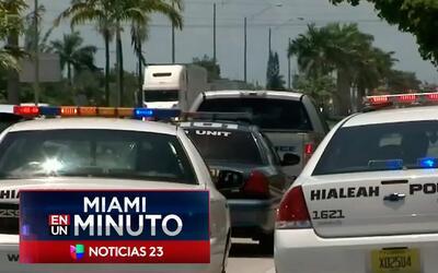 'Miami en un Minuto': policía de Hialeah encontró el cuerpo descompuesto...