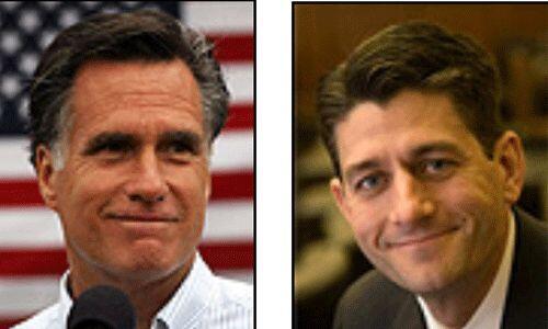 Los candidatos del Partido Republicano: Mitt Romney y Paul Ryan. Creen e...