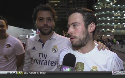 La afición merengue salió molesta del Bernabéu tras la derrota ante Barc...