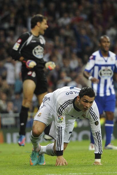 Faltaría un gol más de Cristiano para redondear la noche.