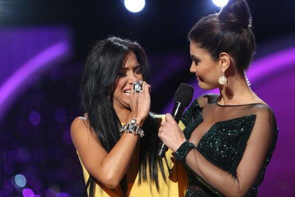 Valeria dijo que dio lo mejor de ella en la competencia y que agradecía...