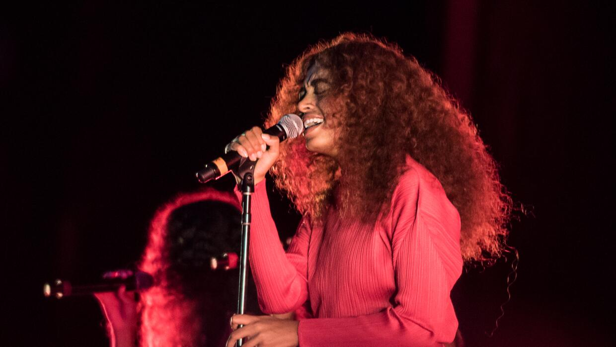 Singer Solange Knowles performs on stage at the 2017 Panorama Music Fest...
