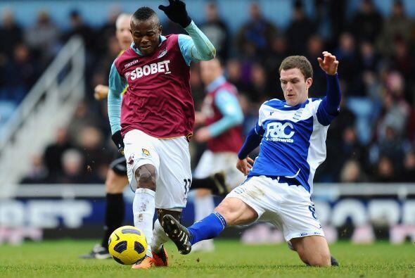 El otro duelo dominical fue el West Ham vs. Birmingham.