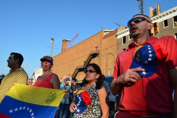 Venezolanos New Orleans plaza SB