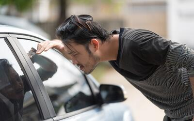 dejaste las llaves olvidades del auto