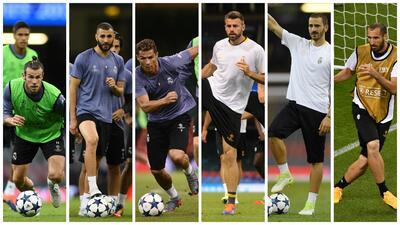 ¿Cuál BBC será más? ¿La del Real Madrid o la de Juventus?
