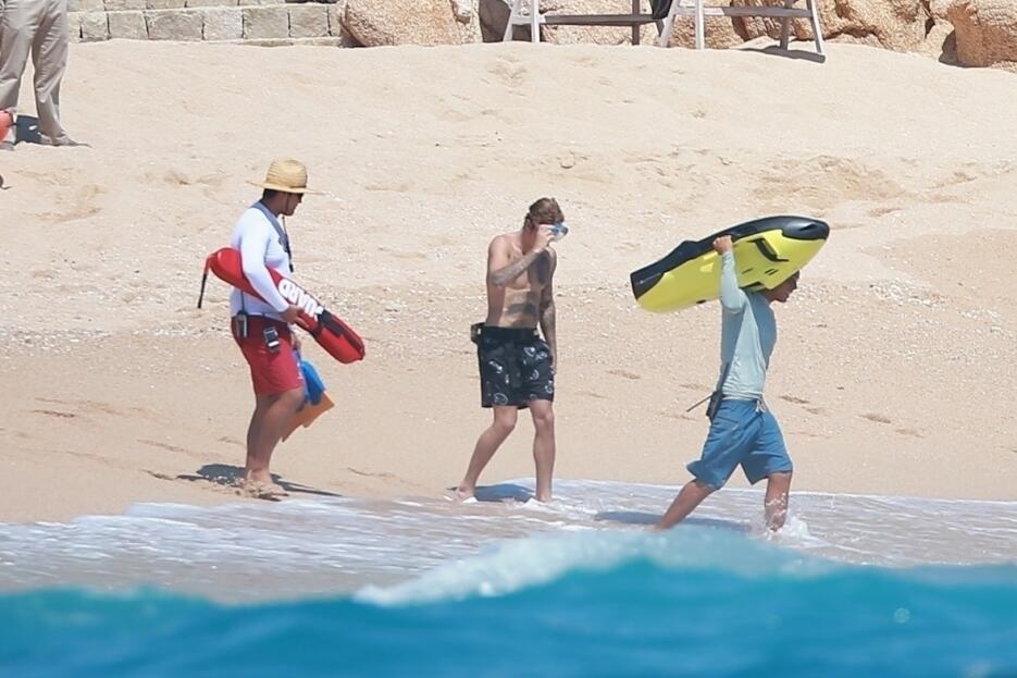 Justin Bieber en los Cabos, México