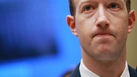 El CEO de Facebook, Mark Zuckerberg, en audiencia frente al Comit&eacute...