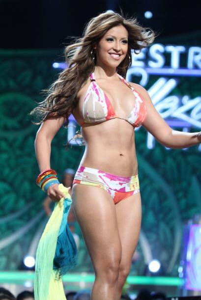 Diana Cano una orgullosa ecuatoriana que hizo parte de la quinta temporada.