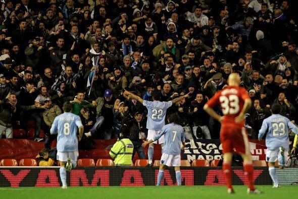 Los italianos sorprendieron a los presentes en Anfield al ponerse en ven...