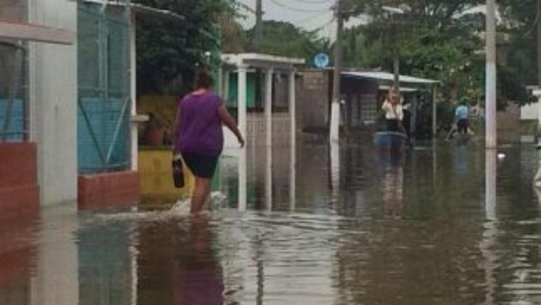 Esta fotografía muestra las severas inundaciones en Tabasco. (Fotografía...