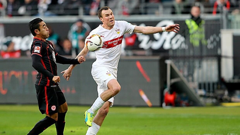Marco Fabián no pudo evitar la derrota del Eintracht Frankfurt