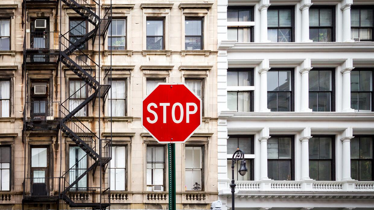 stop sign cities