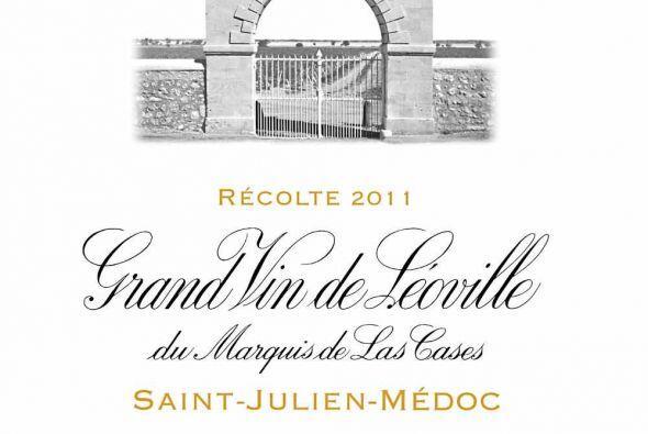 El Château Léoville Las Cases es el vino que ocupa la décima posición.