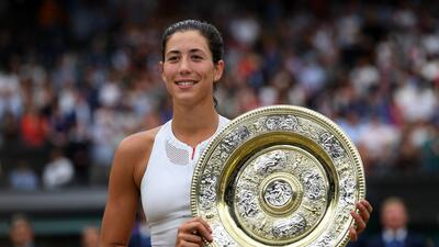 Garbiñe Muguruza es la nueva reina de Wimbledon