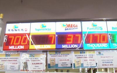 Euforia en Sacramento por el premio de los $700 millones en el Powerball