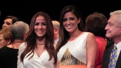 Jackie Guerrido y Pamela Silva Conde estuvieron entre varias personalida...