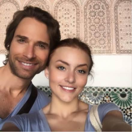 Sebastián Ruly y Angelique Boyer