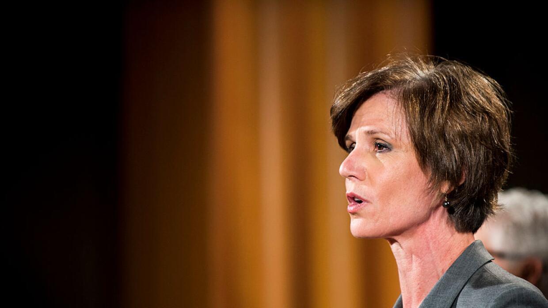 Sally Yates fue la implementadora del plan de perdones a reclusos durant...