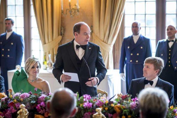 Alberto II de Mónaco viajó a Apeldoorn para asistir a la inauguración of...