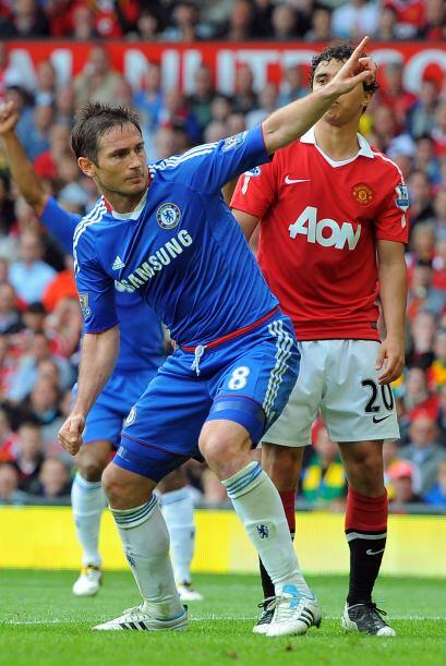 Frank Lampard logró el descuento para darle vida a los 'Blues'.