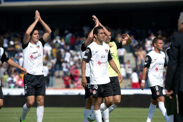 En el Clausura 2013, Atlas arrancó con un empate 1-1 ante Pumas y se ubi...