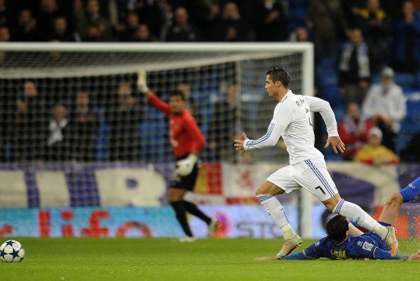 Esos dos pases de gol fueron en favor de Cristiano, quien también se dio...