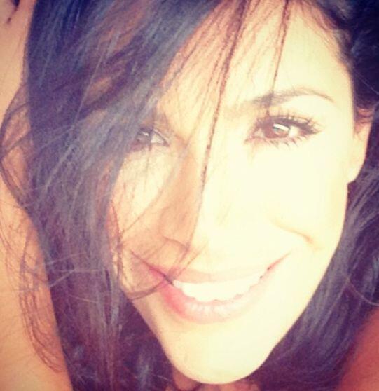 """""""¡Enfócate en ser feliz!"""", dijo Karla Martínez. (Septiembre 5, 2013)"""