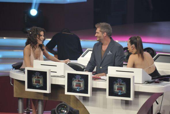 Como Alessandra Rosaldo fue la juez invitada, para evaluar a Raquel, Bia...