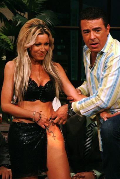 Después Gabriel  Varela descubrió uno de los encantos que Dinamita tiene...