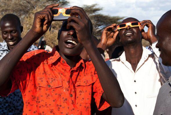 En la capital keniana, Nairobi, por ejemplo, la ocultación no fue...