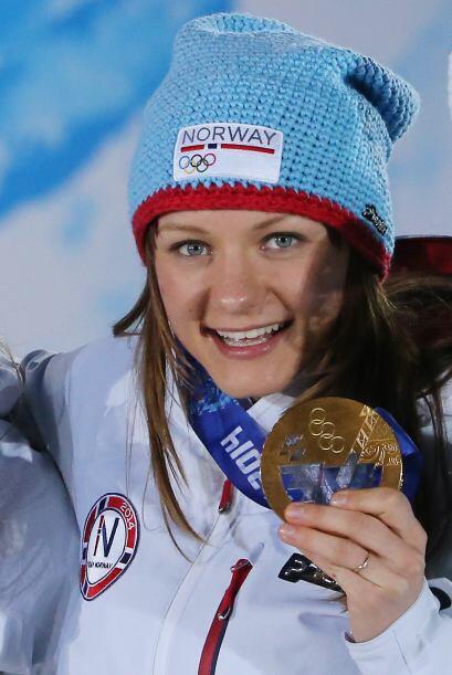 Maiken Caspersen Falla es noruega y tiene 23 años. Ganó or...