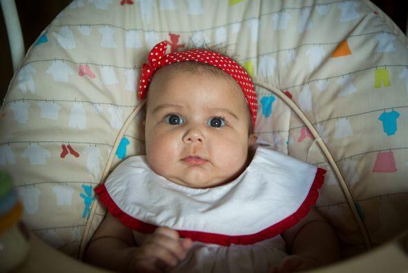 Nació una hermosa niña llamada Megan que ahora tiene 18 semanas de edad.