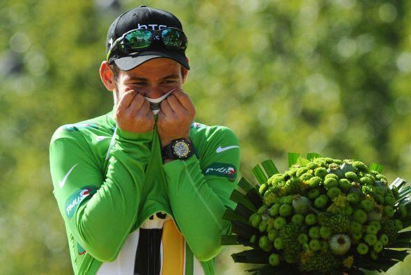 El británico Mark Cavendish del equipo HTC, fue el ganador de la vigésim...