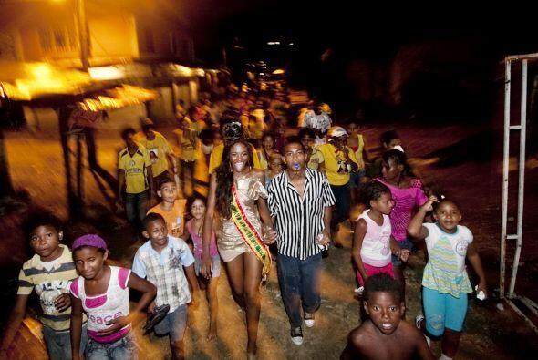Ivonne Palencia llegó a su barrio en Cartagena, Colombia, como la...