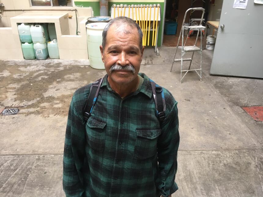 Al michoacano Rodolfo Iturbide, de 63 años, lo deportaron en julio de 20...