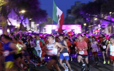 Mexico City Marathon attracted 28,000 runners. But how many actually com...