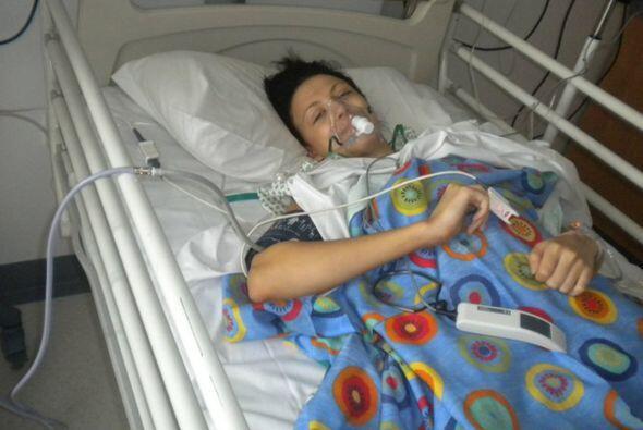 La cirugía duró aproximadamente siete horas y le tomó un año recuperarse...