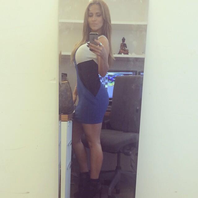 La bella Jackie en Instagram