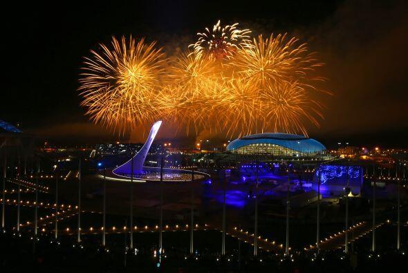 Con una impresionante ceremonia de clausura los Juego Olímpicos rusos ba...