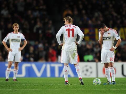 Final del partido. Barcelona 7, Bayer Leverkusen 1. Sí, el Bayer...
