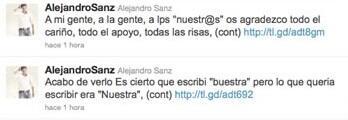 El cantautor español se arrepintió de estos dos tuits, pero fue demasiad...