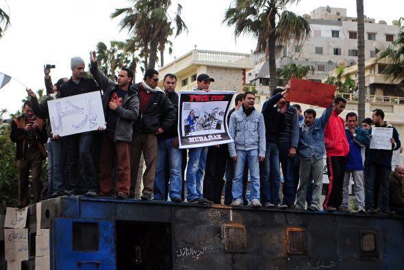 'Día de irse' es la frase utilizada por los manifestantes que no quieren...