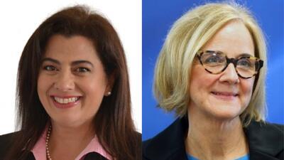 Ellas son las dos candidatas que aspiran a un escaño en la Comisión de Miami-Dade