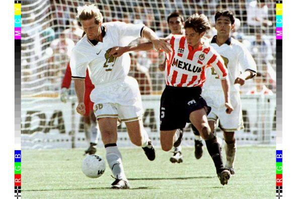 El alemán Bernd Schuster brilló en el fútbol español con los equipos de...